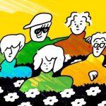長島涼平、おかもとえみ、ひろせひろせ、三浦太郎、SEKIGUCHI LOUIEによる新バンド、フレンズ始動!