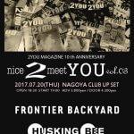 """7/20 """"nice2meetYOU"""" Vol.3 チケット先行販売開始"""